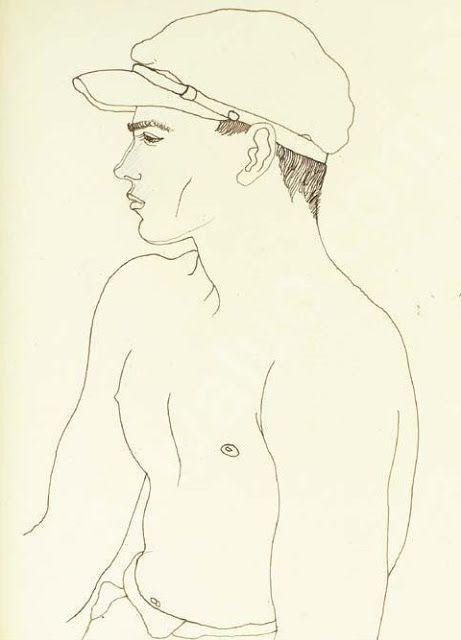 Jean Cocteau ,Toulon 1923