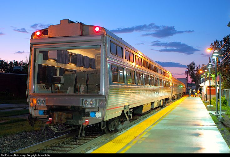 RailPictures.Net Photo: AMTK 10004 Amtrak Theater Car at St. Albans, Vermont by Aaron Keller