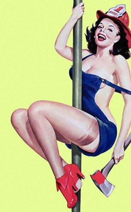 Peter Driben   Pin Up artist   Retro poster