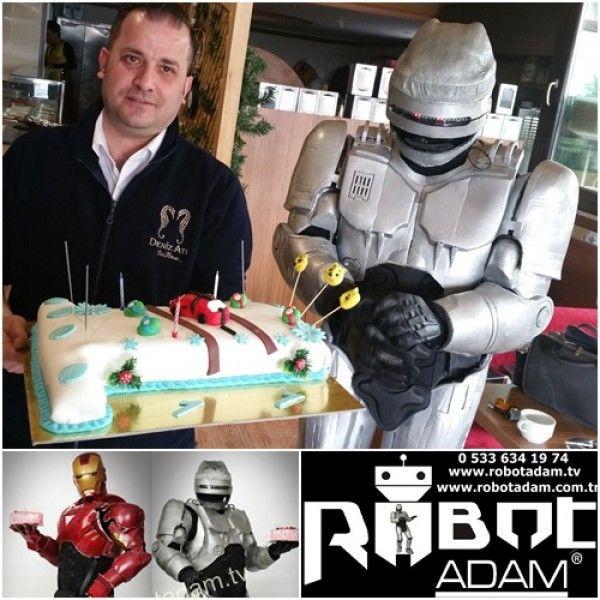 Ankara Doğum Günü Organizasyonu  Palyaço Robot Adam Sihirbaz -  Denizatı İncek
