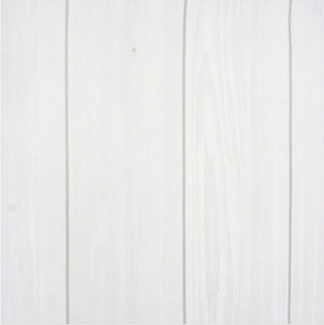 White Wood Panel Vinyl Self Adhesive Wallpaper Peel Stick Contact Paper