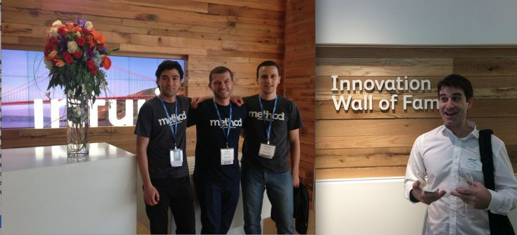 Method #CRM team at Intuit HQ Innovation Center #smallbusiness #accounting