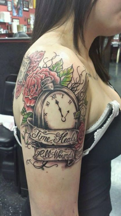 best 25 time heals tattoo ideas on pinterest favorite position hourglass tattoo and. Black Bedroom Furniture Sets. Home Design Ideas