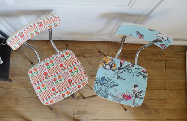 DIY - pimp tes chaises en formica