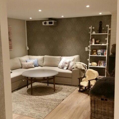 Our livingroom on the basement