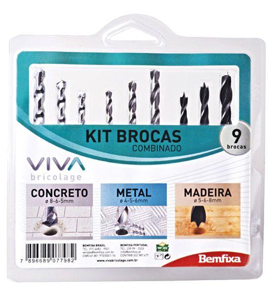 Kit Brocas Combinado