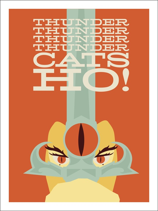 Thundercats. Design inspiration for invitations.