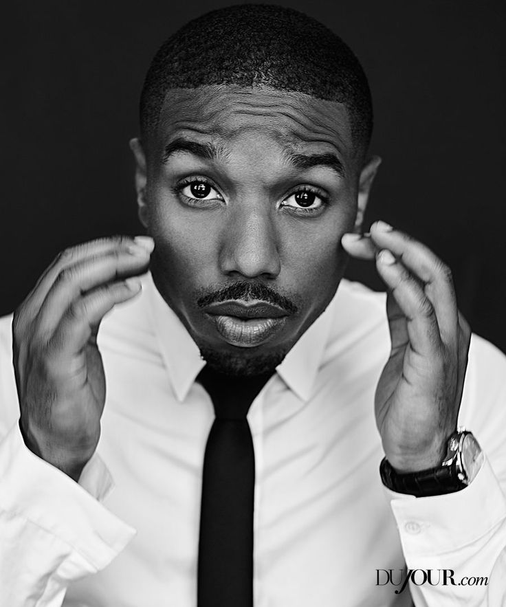 "Michael B. Jordan opens up on filming ""Fantastic Four,"" acting alongside Bill Cosby and Sylvester Stallone and finding love. Find the full interview at DuJour.com. Pictured above wearing shirt and tie from DIOR HOMME, Master Memovox watch from JAEGER LE COULTRE."