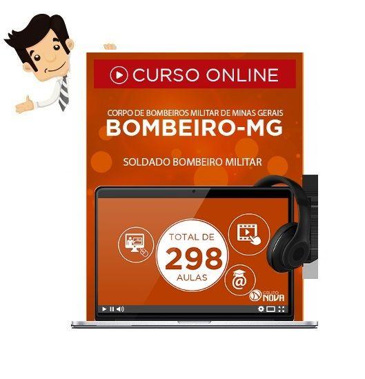 Compre agora seu Curso Online preparatorio do Concurso do Corpo de Bombeiros de Minas Gerais 2016 - Curso de Formação de Soldado Bombeiro Militar (CFSd CBM-MG).  Este produto contempla 1 Curso Online e 1 Apostila Digital.