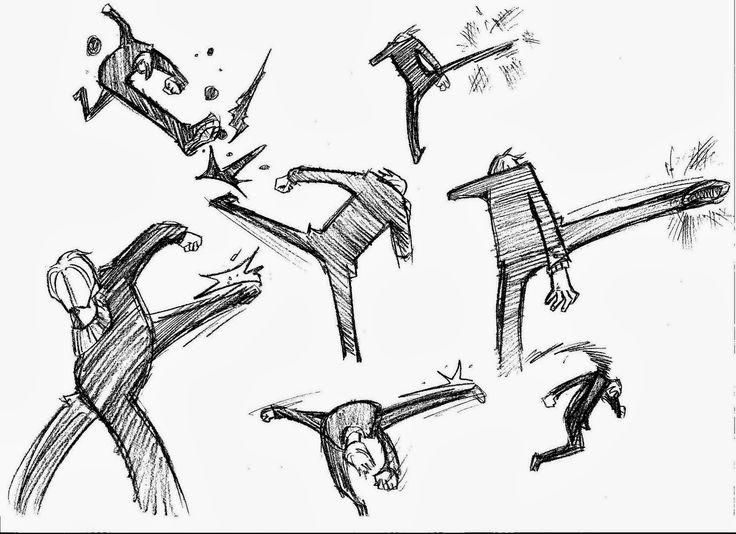 As 25 melhores ideias de Desenho de luta no Pinterest