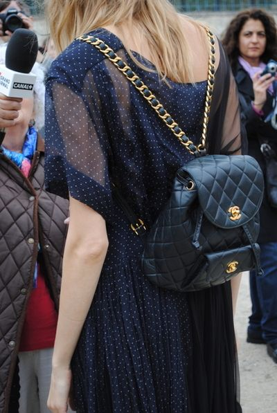 chanel backpack..saw this is paris and i wanted to get it.. obviously way to expensive