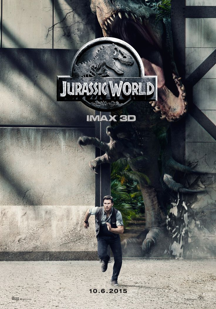 I found it in English finally. Jurassic World (2015) poster