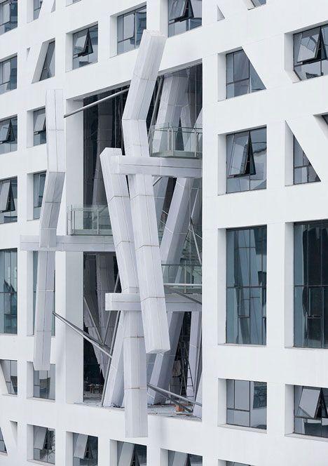 The Light Pavilion by Lebbeus Woods with Christoph a. Kumpusch (via Gau Paris)