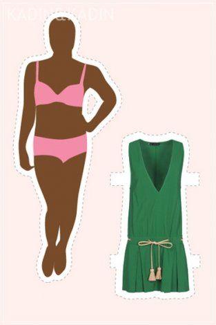 14 vücut tipi için 14 elbise modeli 3
