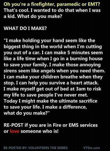 Firefighter/EMT/Paramedic