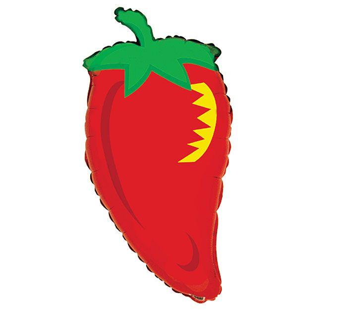 Have fun on Cinco De Mayo with a Chili Pepper Balloon to decorate your fiesta! #burtonandburton #cincodemayo #balloon