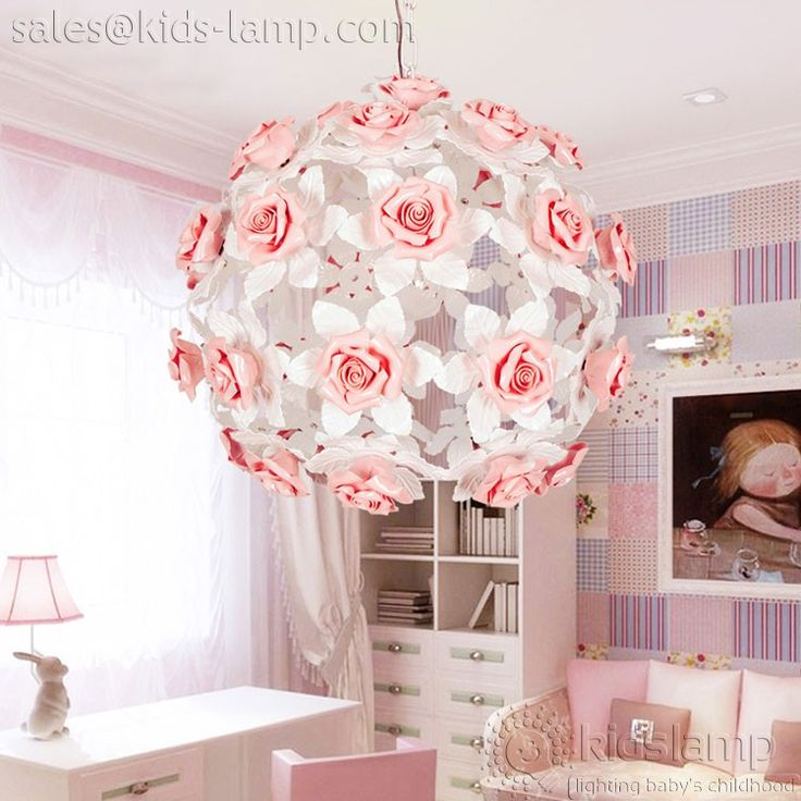 Kronleuchter Für Mädchen Zimmer, Mädchen Schlafzimmer, Mädchen Zimmer,  Keramik Blumen, Für Lampen, Nursery Chandelier, Flower Chandelier, Flower  Pendant, ...