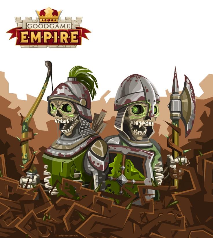 Goodgame Empire - Skeletons