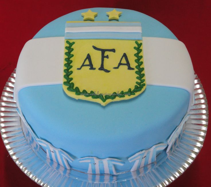 Argentinian Birthday Cake