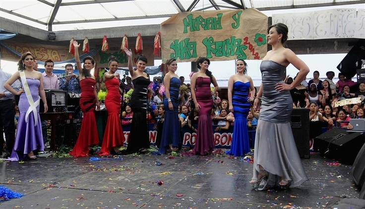 Inmates at the El Buen Pastor prison in Bogota, Colombia, celebrated the La Virgen de las Mercedes holiday by holding their annual beauty contest on September 21, 2012.