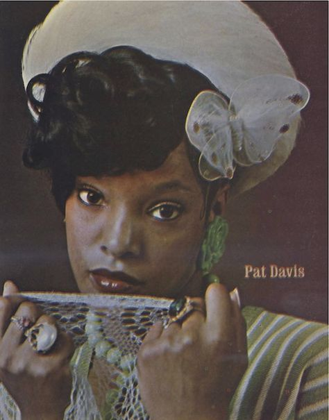 Pat Davis - Soul Train dancer extraordinaire, always with a butterfly in her hair!