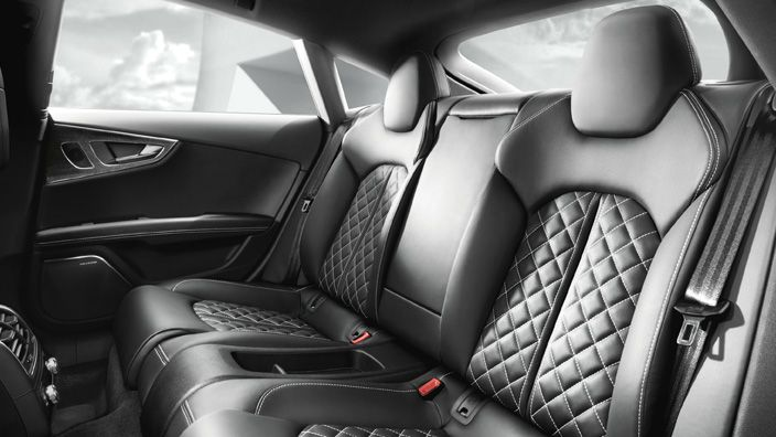 A fascinating sight: the Audi S7 Sportback. An exciting experience: driving it. Feel its eight cylinders and its 309 kW. Enjoy its expressive elegance and generous comfort. Experience contemporary sportiness. No matter where the road takes you – it will be a sensational ride. Source: Audi AG