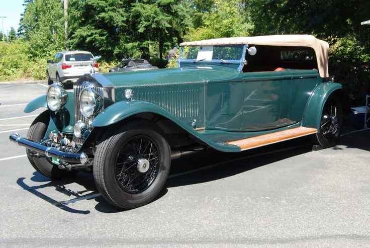 Bently - All British Vintage car meet at VanDusen Botanical Gardens...Vancouver, BC, Canada