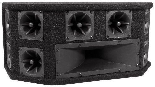 "Brand New Gemsound St21 150 Watt 2 Way Midrange + Tweeter Combo Box by Gem. $44.95. Brand New Gemsound ST21 150 Watt 2 Way Midrange + Tweeter Combo Box Features:  Ten Piezo super tweeters 4"" x 10"" high loaded speaker terminals Carpet finish Frequency Response: 2000-27,000 Hz Sensitivity: 93 dB Dimensions(W x H x D): 20"" x 6"" x 9.75"" 50.8cm x 15.24cm x 24.76cm Weight: 25 lbs(11.34 kg)"