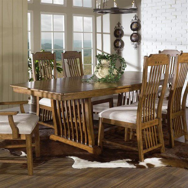best 25+ craftsman dining tables ideas on pinterest | craftsman