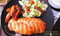 IMPRESJA smaku...: Piersi kurczaka faszerowane szpinakiem pieczone w ...