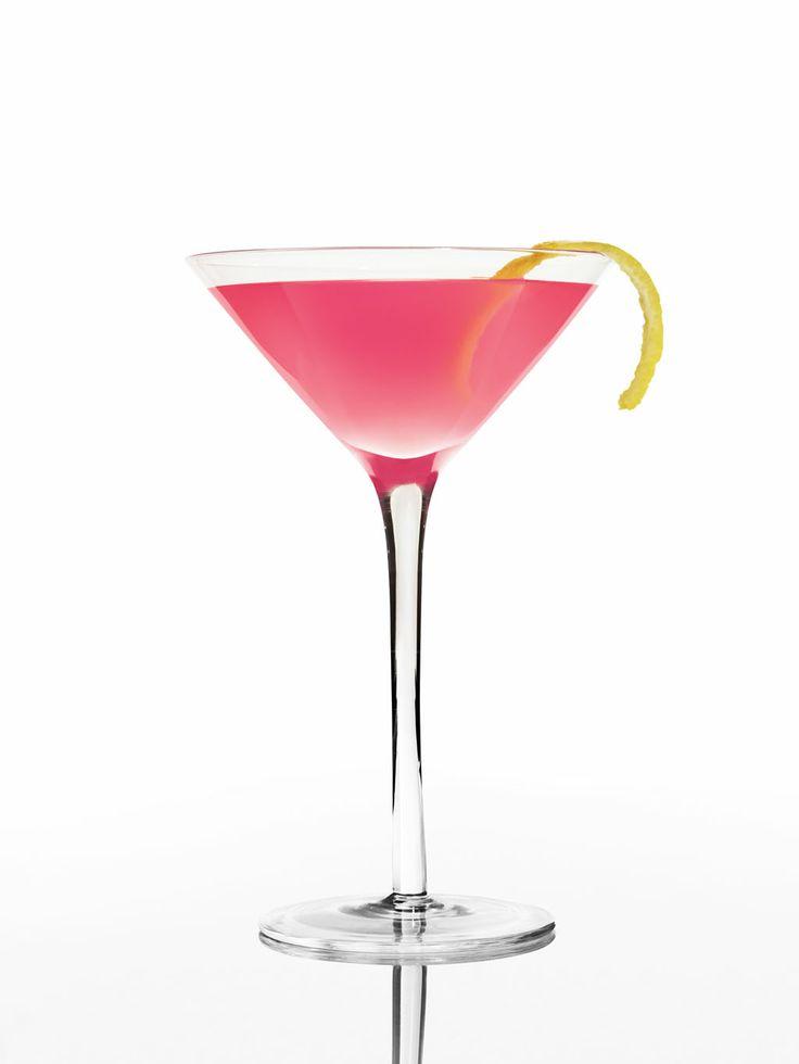 Pink #Martini koktél - Dry #Vermouth, Orange #Bitters, #Grenadine