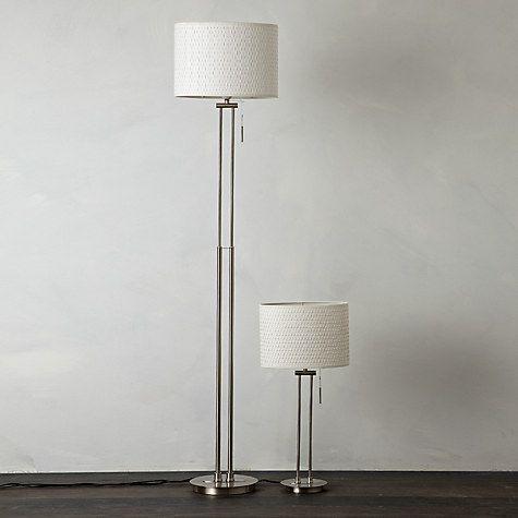 Buy John Lewis Preston Table and Floor Lamp Duo Online at johnlewis.com