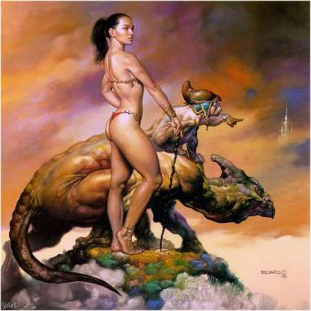 The Art of Boris Vallejo