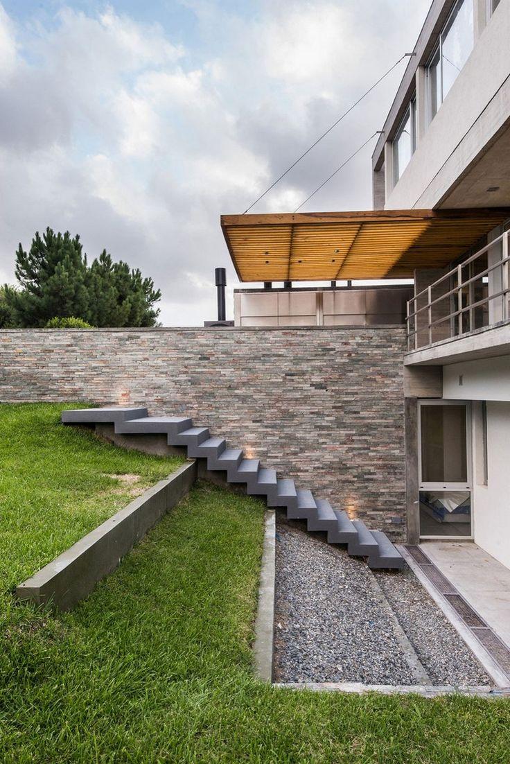 best 25 escalier ext rieur b ton ideas on pinterest. Black Bedroom Furniture Sets. Home Design Ideas