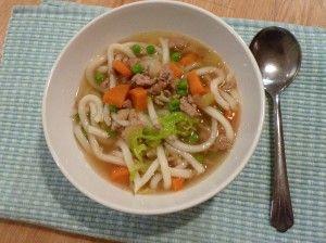 #MarathonMijoteuse > #Soupe asiatique au porc à la #mijoteuse
