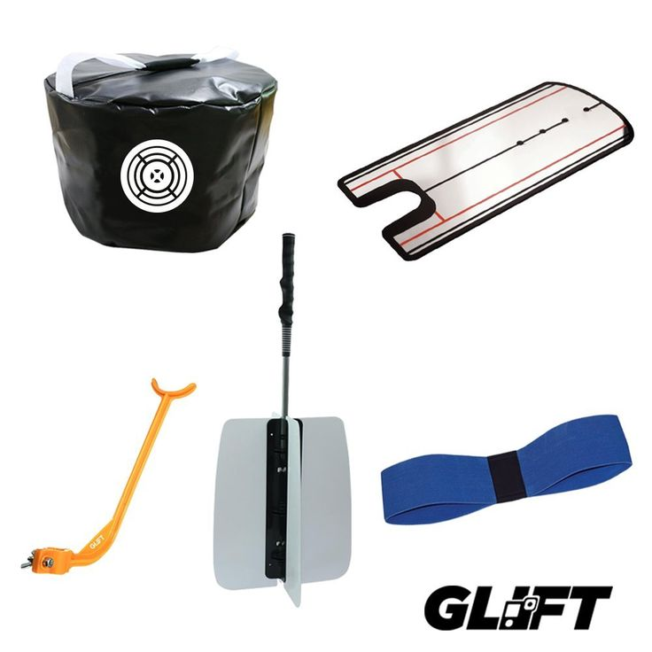 Featuring 5 great training aids the complete golf training aid bundle by Glift is designed to fit golfers of all stages from beginners to advanced golfing skills