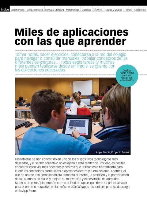 Educación tecnológica: Guía Apps de Educación 3.0