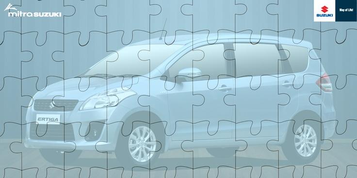 A Puzzle of Suzuki Ertiga...