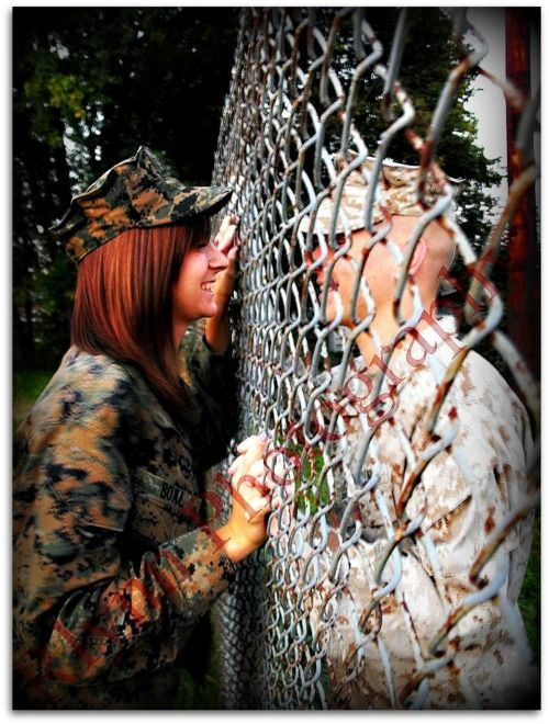Military Couple. So Cuteee!!!