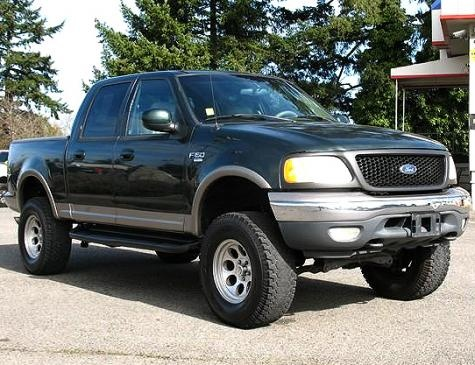Cheap Car Tires >> Lifted 4x4 Truck For Sale: 2001 Ford F-150 Lariat ...