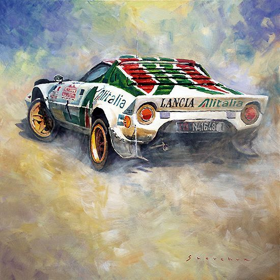Lancia Stratos  Sandro Munari 1976 Rallye Sanremo