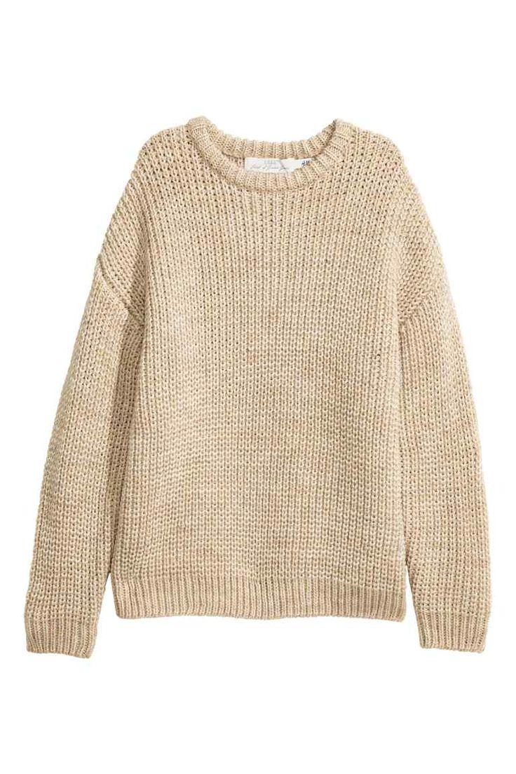 Hrubý pletený pulóver   H&M