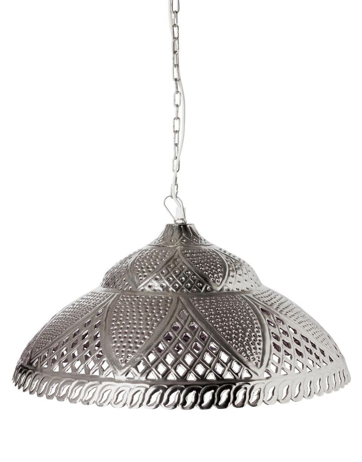 LOTUS lampa silver | Electric lamps | Lampor | Inredning | INDISKA Shop Online