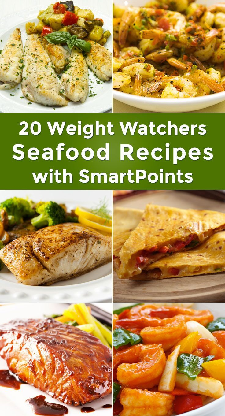 1. Dijon Fish Fillets (Weight Watchers)kitchme.com2 SmartPoints. See recipe details. 2. Spicy Baked Shrimp (Weight Watchers)kitchme.com2 SmartPoints. See rec