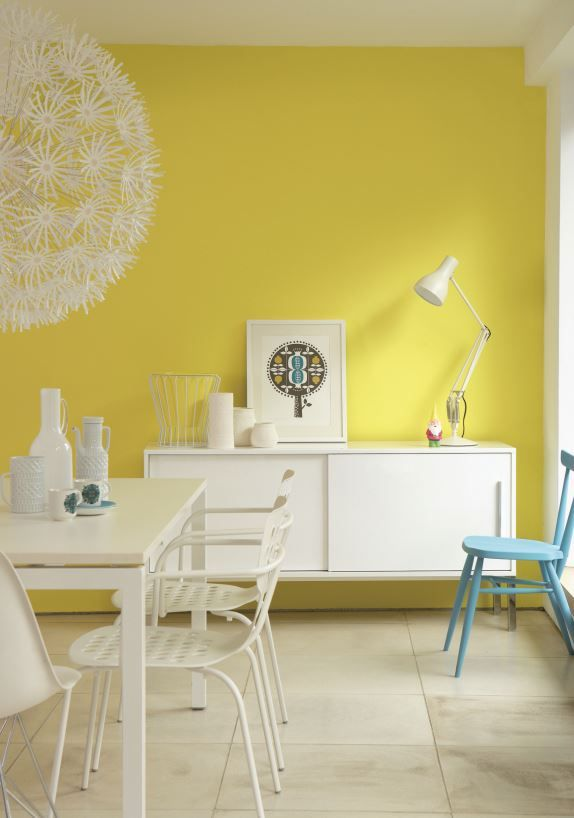 12 best Bright Interiors images on Pinterest | Wall paint colors ...
