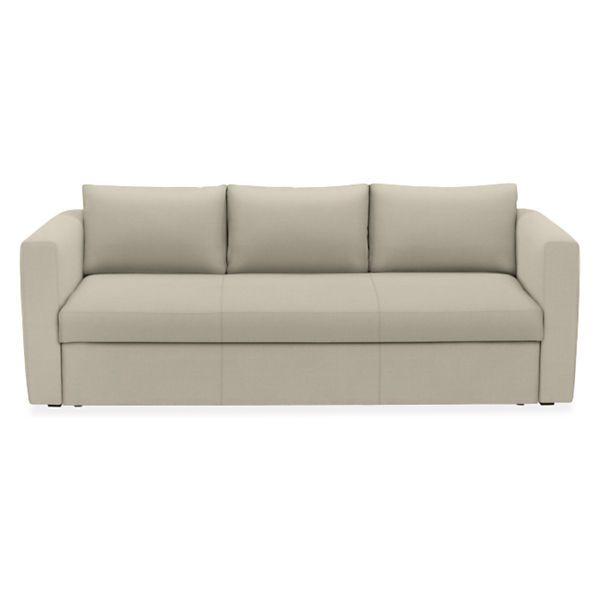 "Room & Board - Oxford 86"" Pop-Up Platform Full Sleeper Sofa"