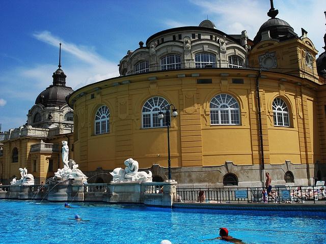 Szechenyi Baths, Hungary. Most relaxing day of my life #YankeeCandle #MyRelaxingRituals