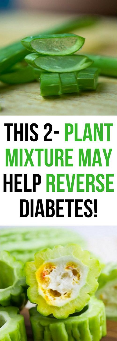 Reverse Diabetes With These 2 Plant Mixture