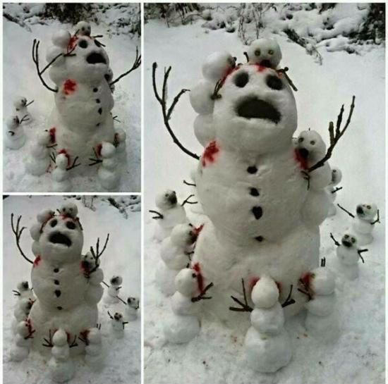 Is this the snowman version of Attack on Titan?