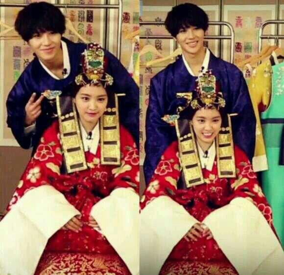We Got Married - Taeun Couple <3  Watch them @ http://wgmhammer.blogspot.com/2014/02/wgm-taeun-couple-eng-sub.html